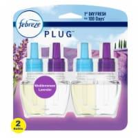 Febreze Plug Mediterranean Lavender Scented Oil Refills 2 Count