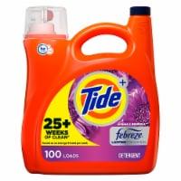 Tide + Febreeze Freshness Spring & Renewal Liquid Laundry Detergent - 154 fl oz