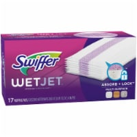 Swiffer WetJet Absorb + Lock Multi-Surface Mopping Pads