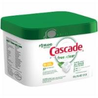 Cascade Pure Essentials Lemon Essence Actionpacs Dishwasher Detergent 37 Count