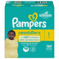 Pampers Swaddlers Size 1 Baby Diapers Enormous Pack