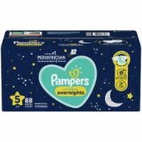 Pampers Swaddlers Overnights Size 5 Baby Diapers - 88 ct