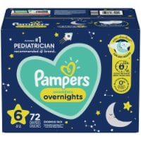 Pampers Swaddlers Overnights Size 6 Diapers - 72 ct