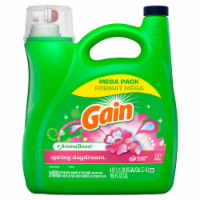 Gain + Aroma Boost Spring Daydream Liquid Laundry Detergent Mega Pack