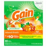 Gain Ultra + Aroma Boost Island Fresh Scent Powder Laundry Detergent