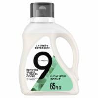 9 Elements Eucalyptus Liquid Laundry Detergent - 65 fl oz