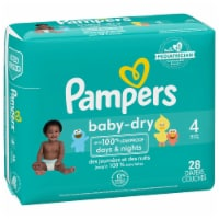 Pampers Baby-Dry Size 4 Diapers Jumbo Pack