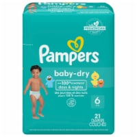 Pampers Baby-Dry Size 6 Diapers Jumbo Pack 21 Count