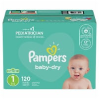 Pampers Baby-Dry Size 1 Diapers