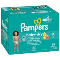 Pampers Baby-Dry Size 5 Diapers Super Pack