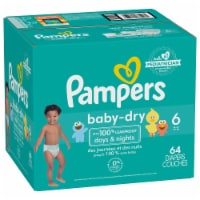 Pampers Baby-Dry Size 6 Diapers Super Pack