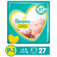 Pampers Preemie Swaddlers Size P-1 Baby Diapers