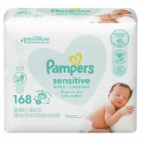 Pampers Sensitive Gentle Clean Baby Wipes - Fragrance Free