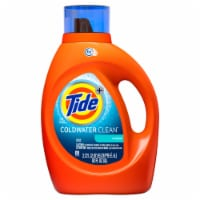 Tide Laundry Detergent Liquid Coldwater Clean Fresh Scent HE Turbo Clean 59 loads