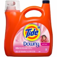 Tide + Touch of Downy April Fresh Liquid Laundry Detergent - 138 fl oz