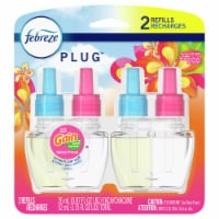 Febreze Plug Island Fresh with Gain Scent Scented Oil Refills 2 Count