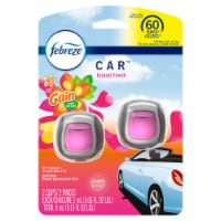 Febreze CAR Gain Island Fresh Air Freshener Vent Clips