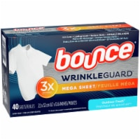Bounce Wrinkle Guard Outdoor Fresh Dryer Sheets