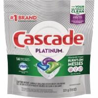 Cascade Platinum Action Pacs Fresh Dishwasher Detergent Tabs (14 Count) - 14 Ct.