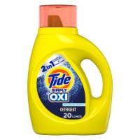 Tide Simply Plus Oxi Refreshing Breeze Liquid Laundry Detergent - 31 fl oz