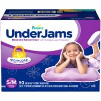 Pampers UnderJams Small/Medium Bedtime Underwear 50 Count