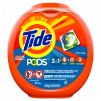 Tide PODS Original 3 in 1 Liquid Laundry Detergent Pacs