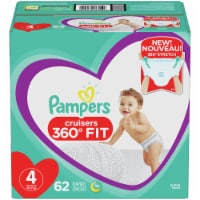 Pampers Cruisers 360 Fit Size 4 Diapers - 62 ct