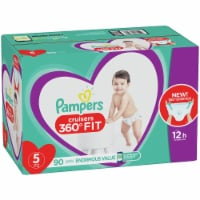 Pampers Cruisers 360 Fit Size 5 Baby Diapers
