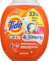 Tide 4-in-1 Downy April Fresh Liquid Laundry Pods