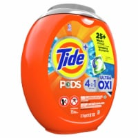 Tide PODS 4 in 1 Ultra Oxi Liquid Laundry Detergent Pacs