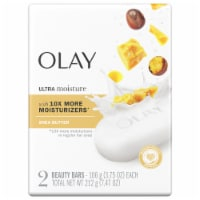 Olay Moisture Outlast Ultra Moisture Shea Butter Beauty Bar for Women