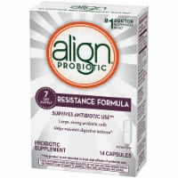 Align Resistance Formula Probiotic Supplement Capsules 14 Count