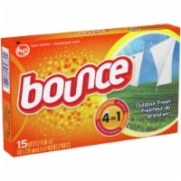 Bounce® Outdoor Fresh Dryer Sheets - 15 ct