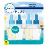 Febreze Plug Bora Bora Waters Air Freshener Scented Oil Refill