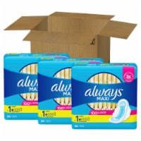Always Size 1 Regular Maxi Pads with Wings