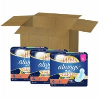 Always Size 4 Overnight Maxi Pads (3 Pack)