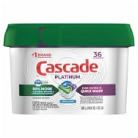 Cascade Platinum Dishwasher Detergent ActionPacs Fresh Scent