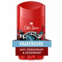 Old Spice Men Wild Collection Krakengard Antiperspirant Deodorant - 2.6 oz