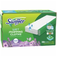 Swiffer Sweeper Lavender Vanilla & Comfort Wet Mopping Cloths
