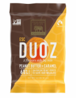 Endangered Species Duoz Peanut Butter & Caramel Dark Chocolate Bar