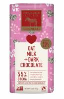 Endangered Species Oat Milk + SDark Chocolate 55% Cocoa Valentine Bar