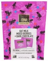 Endangered Species Oat Milk, Mixed Berries & 75% Dark Chocolate Bites - 12 ct / 4.2 oz