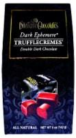 Dilettante Chocolates Dark Ephemere Truffle Cremes Double Dark Chocolate