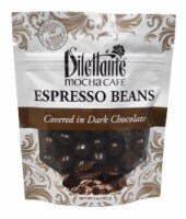 Dilettante Chocolates Mocha Cafe Espresso Beans Covered in Dark Chocolate