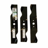 Arnold MTD 14-7/8 In. & 16-9/32 In. Tractor Mower Blade Set 490-110-M116 - 1