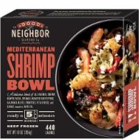 Good Neighbor Seafood Co. Mediterranean Shrimp Bowl Frozen Meal