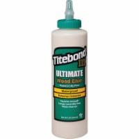 Titebond® III Ultimate Waterproof Exterior/Interior Wood Glue - 16 fl oz