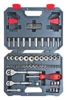 Crescent  Assorted Sizes  x 1/4 and 3/8 in. drive  SAE/Metric  6 and 12 Point Socket Wrench - Count of: 1