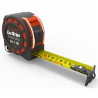 Crescent L1125CME Lufkin 1-3/16in x [8m / 26ft] Shockforce Dual Sided Tape Measure - 1 each