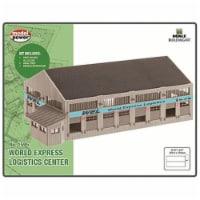 Model Power MDP2621 N Scale World Express Logistics Center Built Up - 1